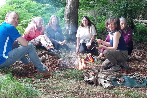 outdoor therapy group